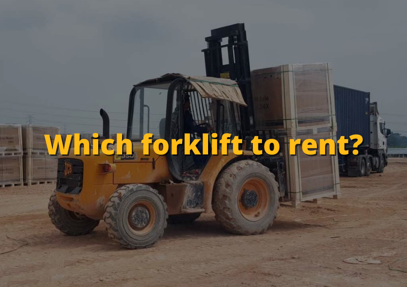 Things you need to know before renting a forklift
